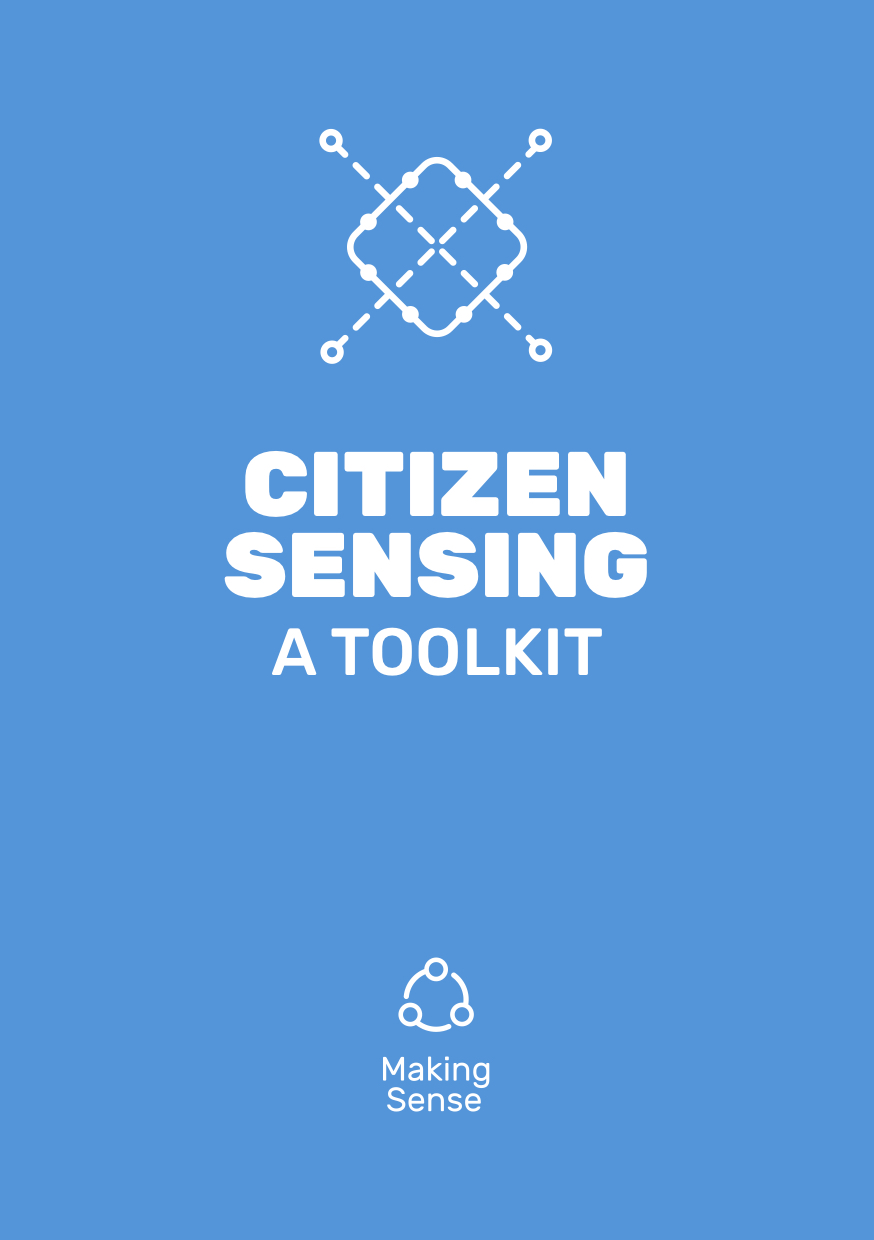 Citizen Sensing - A Toolkit Cover